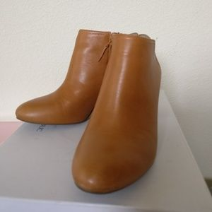 Banana Republic brown booties size 6